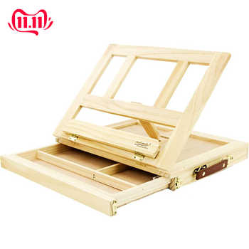 Wooden Table Easels for Painting Artist Kids Drawer Box Portable Desktop Laptop Accessories Suitcase Paint Hardware Art Supplies - DISCOUNT ITEM  22% OFF All Category