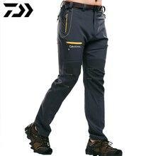 Daiwa мужские рыболовные брюки дышащие анти-пиллинг анти-Усадочные быстросохнущие рыболовные брюки спортивная одежда для отдыха на природе походные брюки