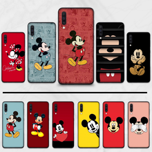 Cartoon Mickey nette Maus Luxus Einzigartige Design Telefon Abdeckung Für Samsung S6 S7 rand S8 S9 S10 e plus A10 a50 A70 note8 J7 2017(China)