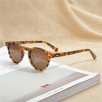 Gregory Peck Brand Designer men women Sunglasses Vintage Polarized sunglasses Famous brand OV5186 retro Sun glasses oculos