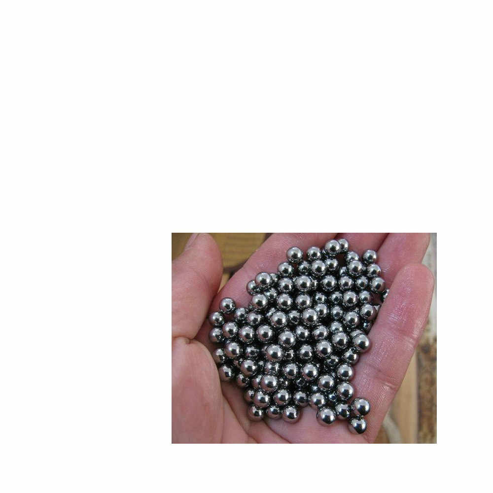 """5.556mm 500 PCS 7//32/"""" inch G10 Hardened Chrome Steel Bearing Balls"""