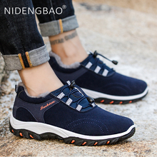 Hot Sale Men Winter Walking Shoes Outdoor Sport Sneakers Male Non-slip Jogging Shoes Comfortable Men Sneakers Size 39-44