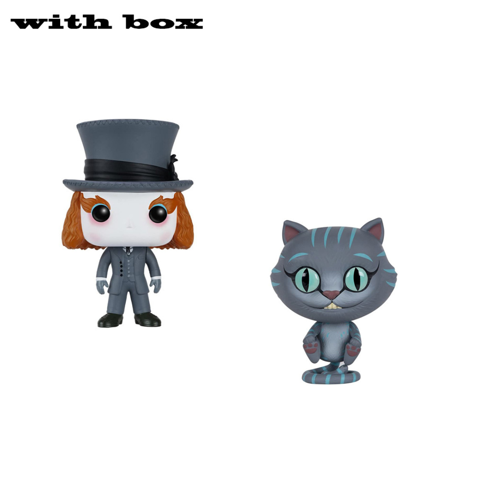 POP  CHESSUR MAD HATTER  with box  PVC Action Figure Collectible Model toys
