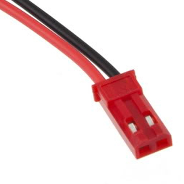 10x 100mm JST Male CONNECTOR PLUG for RC Helicopter LIPO BATTERY 4