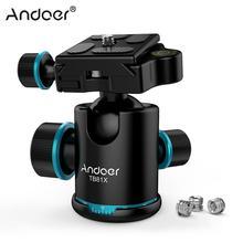Andoer TB81X штатив с шаровой головкой, вращающаяся на 360 градусов панорамная шаровая головка для DSLR камеры штатив монопод ползунок шаровая головка