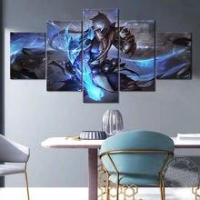 Игра Лига Легенд постер lol lee sin dragonmancer скины настенные