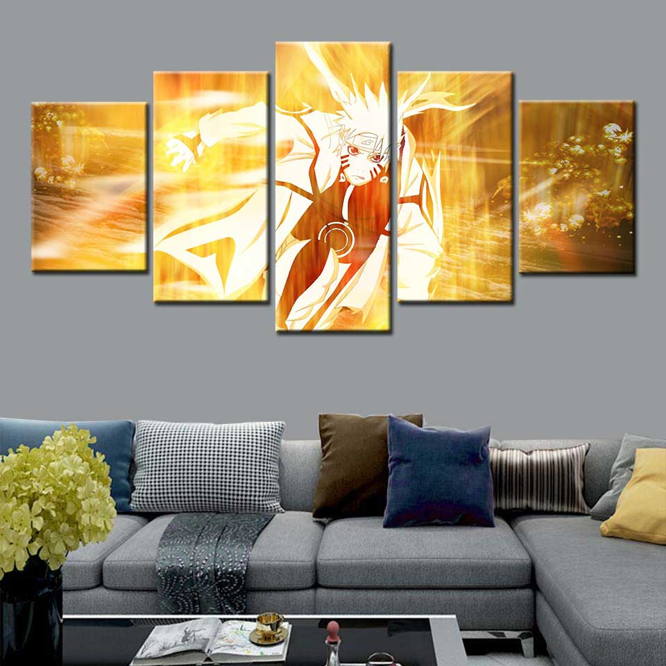Naruto Poster Popular Classic Japanese Anime Wall Art Canvas Painting Nostalgia Posters Home Dorm Boys Room Home Decor