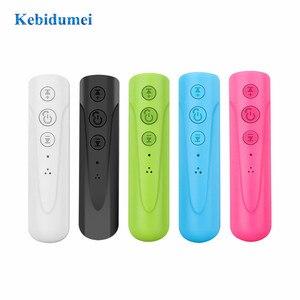 Image 3 - Kebidumei AUX 2018 3.5mm I8 casque Bluetooth sans fil récepteur MP3 lecteur Audio voiture Kit écouteur mains libres avec micro pour téléphone