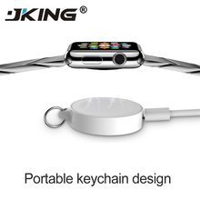 For Apple Watch 1 2 3 4 Series Portable Magnetic Wireless Charger Induction Usb Power Charging For Apple Watch with Keychain