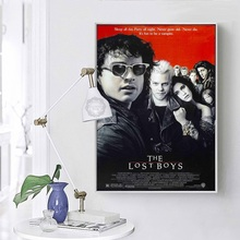 The Lost Boys Classic Movie Art Painting Silk Canvas Poster Wall Home Decor vladimir lukonin the lost treasures persian art