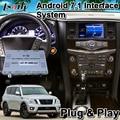 Android 6 0 видео Интерфейс для Nissan Patrol y62 Armada 2012-2017 года  встроенный WI-FI Bluetooth Mirrorlink и gps навигации