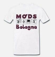Tops Tee T Shirt Ultras Bologna Mod's Mods Bologna 1 S-M-L-XL T-Shirt Trendy Streetwear