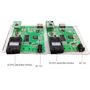 Image 2 - Hdmi + usb sobre o conversor da fibra, cvi tvi ahd 2mp ao conversor da fibra, áudio + lan sobre o pwb do conversor da fibra