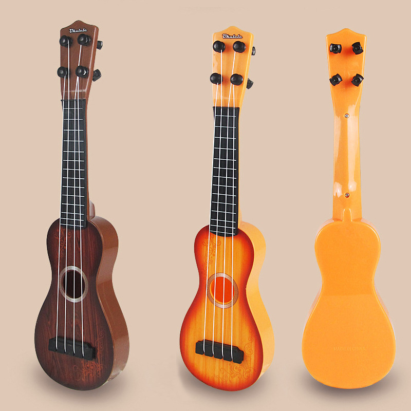 Play Ukulele Small Guitar GIRL'S-Children Boy Toy Mainland China Music String Type Medium Mini Music