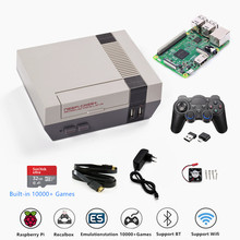 Retroflag NESPI+ Raspberry Pi 3B Video Game Console Support HDMI Out TV Gaming Plays Pre install Multi language Recalbox & Games