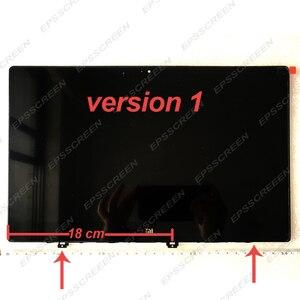 Image 3 - シャオ mi mi ノートブック空気 ips LQ133M1JW15 N133HCE GP1 LTN133HL09 13.3 「 lcd led スクリーン表示マトリックスガラスアセンブリ薄型フレーム