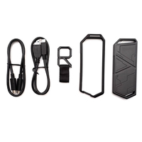 5pcs/set Portable External SSD Enclosure Type C USB3.2 for ASUS ROG STRIX ARION M.2 NVMe SSD Hard Disk Accessories