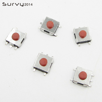 100pcs 3*6*3.1mm SMD 5 Pins Snap-In Micro Push Button Tactile Tact Momentary Switch diy electronics image