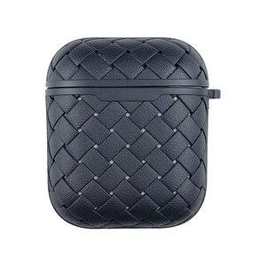 Do etui airpods silikonowe luksusowe tkactwo BV siatka oddychająca siatka cienkie etui na słuchawki do air pods pro 2 odporne na wstrząsy torby