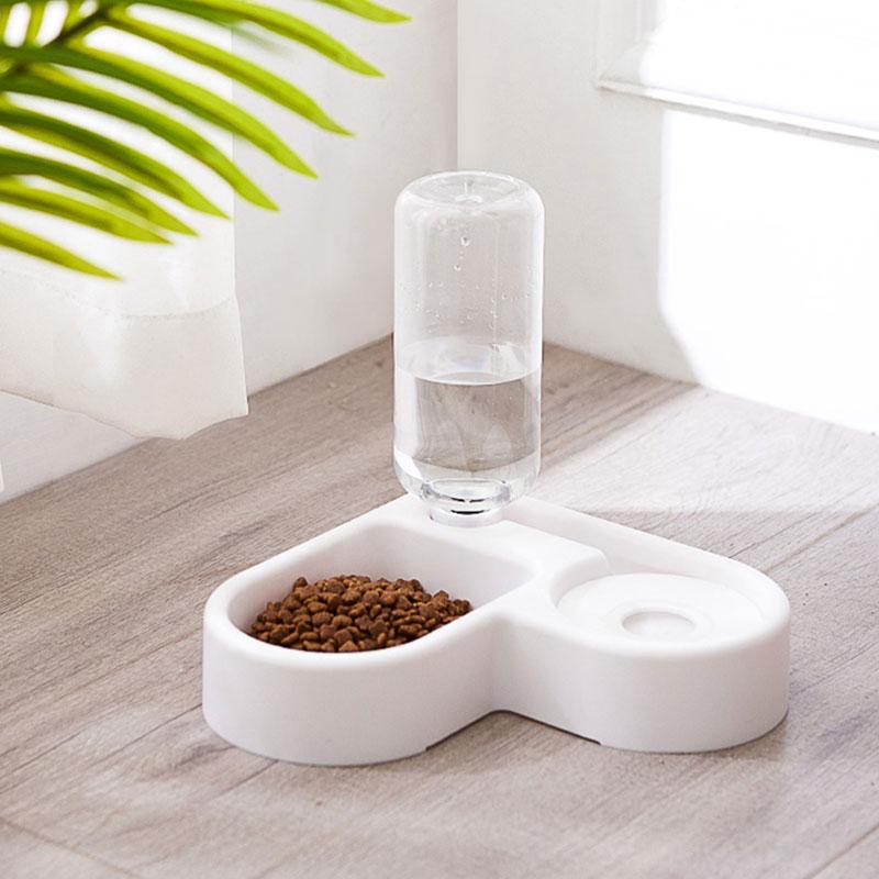 Contenitore automatico dell'erogatore dell'alimentatore dell'alimento dell'acqua della fontana della ciotola del gatto del cane dell'animale domestico per i cani gatti che bevono i prodotti dell'animale domestico vendita calda 2020 2