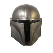 Yacn le casque mandalorien Star War Bobofet casque Latex adulte argent blanc(China)