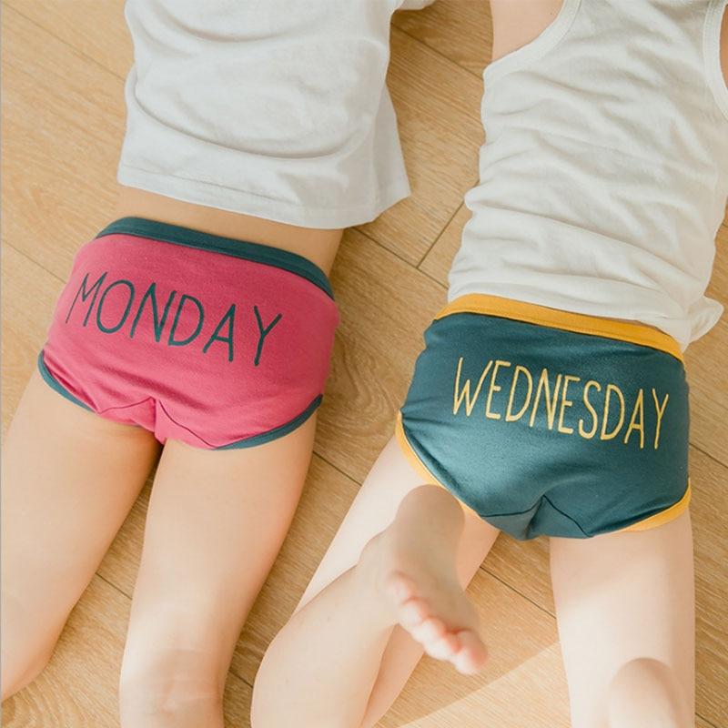Kids boys Underwear Cotton Panties toddler Girls Baby Short Briefs 2019  Fashion new Children Teenager letter printed Underpants|Panties| -  AliExpress