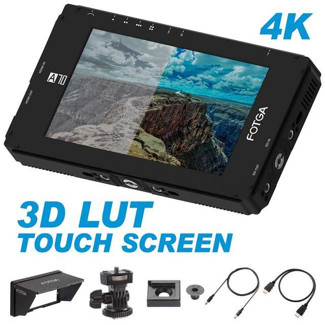 Fotga DP500IIIS A70TL 7 дюймовый сенсорный экран, FHD IPS видео на камере, полевой монитор 3D LUT 1920x1080,4K HDMI