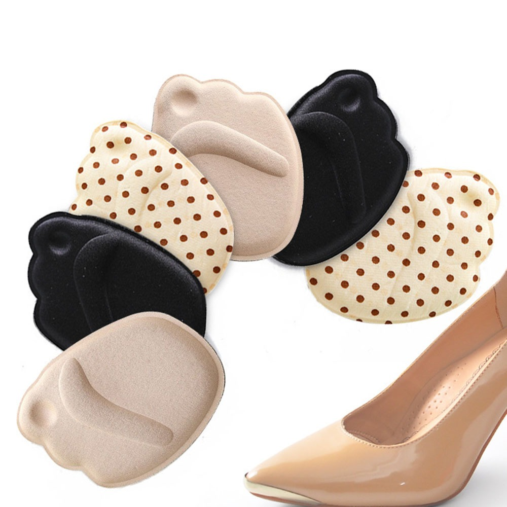 1 Pair Sole High Heel Foot Cushions Forefoot Anti-Slip Insole Breathable Shoes Pad Soft Inserts Insoles1 Pair Sole High Heel Foo