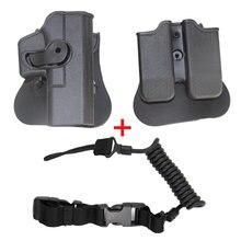 Страйкбол тактическое оружие поясная кобура для glock 17 19