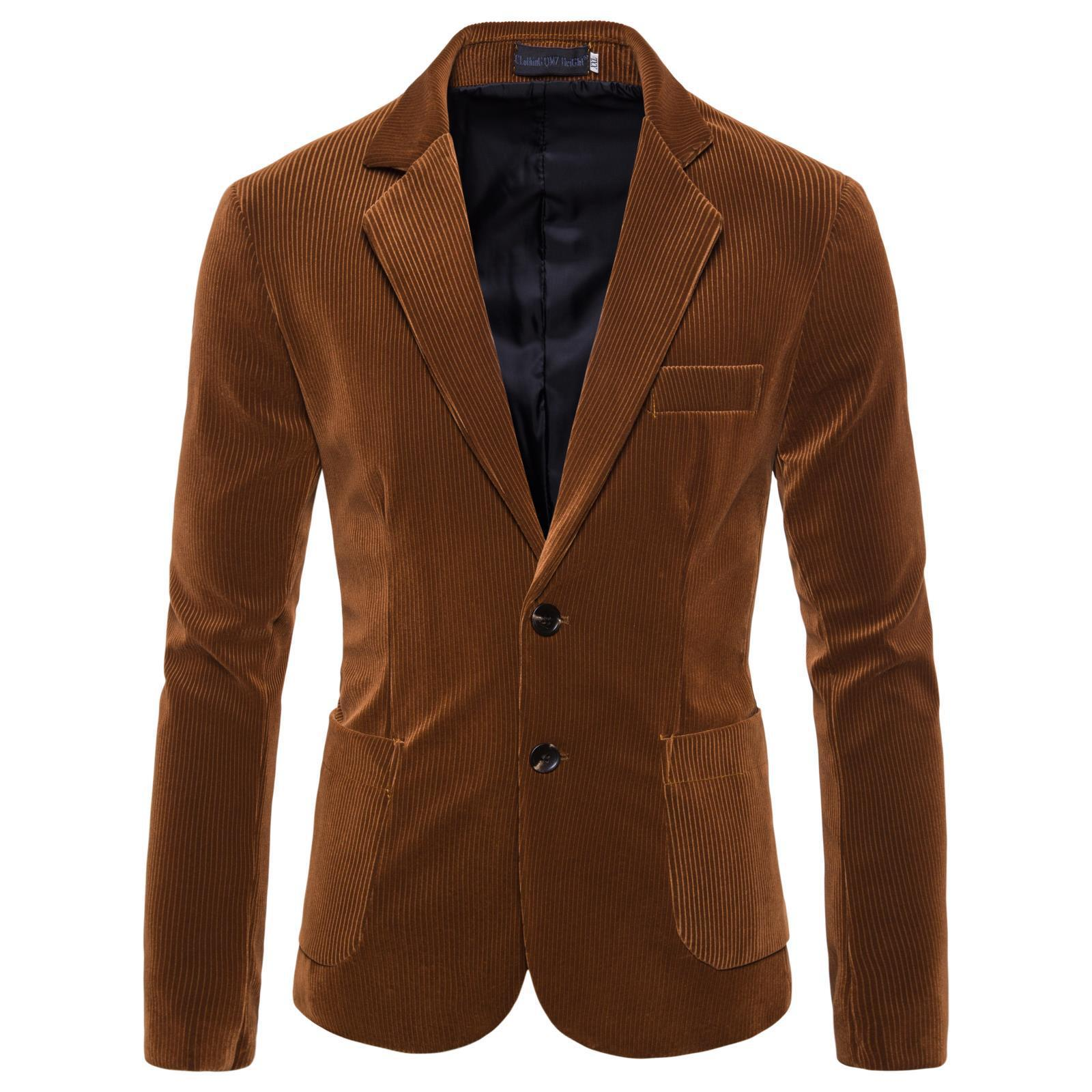 Dress Man's Suit Man 2019 Self-cultivation Fund Urine Single Xiqing Annual Tide Payment Suit