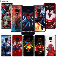 Lavaza marvel Spiderman weichen Fall für Honor Mate 30 Nova 4E 5T V20 9X P20 Y9 5i P Smart Z Prime Plus Lite Pro(China)