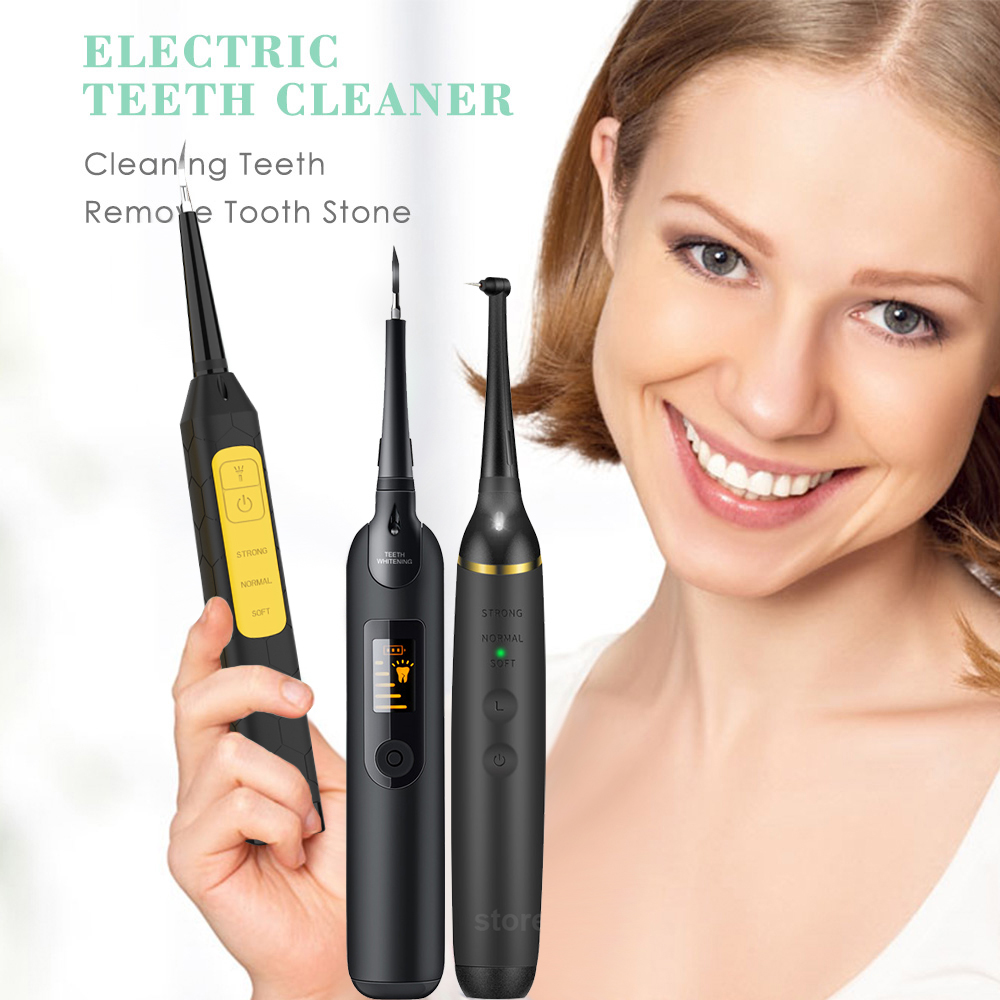 Portable Electric Sonic Dental Scaler Tooth Calculus Remover Tooth Stains Tartar Tool Dentist Teeth Whitening Oral Hygiene|Oral Irrigators|   - AliExpress