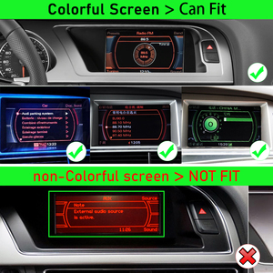 Image 5 - Android 10 4+64G Car Multimedia Player For AUDI A4 B8 8K 2008~2016 MMI 2G 3G Android Display Radio GPS Navigation Touch Screen