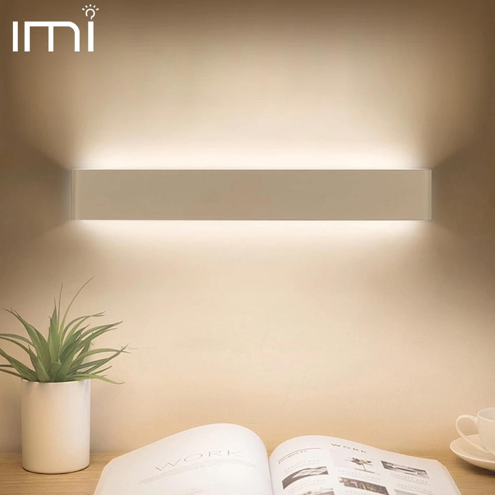 Светодиодная настенная лампа, современный светильник, домашняя настенная бра, Минималистичная лестница, прикроватная тумбочка для спальни, гостиной, дома, прихожая, 10 Вт, 20 Вт, освещение|Комнатные настенные LED -лампы|   | АлиЭкспресс