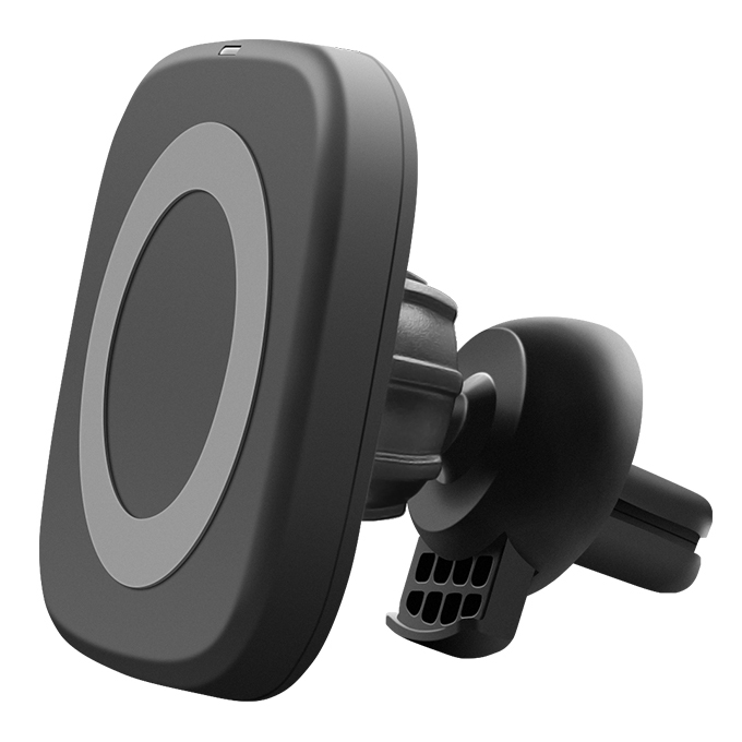 QI car magnetic mobile phone wireless charger wireless charging transmitter 15w 10W 5W KT-W50A61 FOR: IPHONE Samsung Huawei