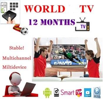 Świat IPTV Box Android holenderski włochy arabski afryka indyjski Pakistan inteligentny IPTV M3U Smart Tv MA9 tylko brak kanałów w zestawie
