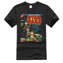 Vintage Poster Special Edition Discount Tee Shirts Princess Leia Last Jedi Yoda Cotton Crew Neck Men T Shirt Crazy