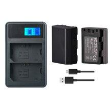 2Pc 2280mAh NP-FZ100 NPFZ100 NP FZ100 Battery + LED Dual USB Charger for Sony NP-FZ100, BC-QZ1, Sony a9, a7R III, a7 III, ILCE-9