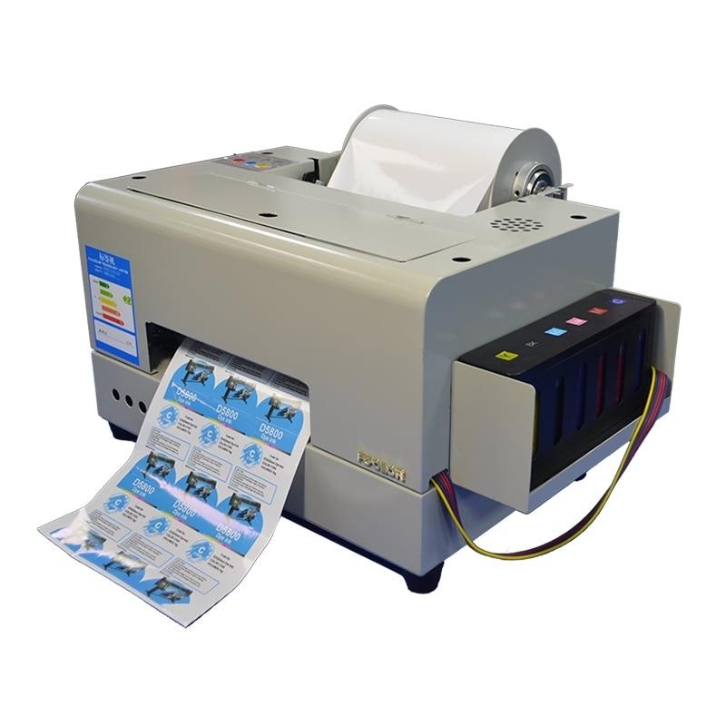 Adhesive Label Sticker Printer Machine A4 Inkjet Color Label Printing Machine Product Label Printing Machine