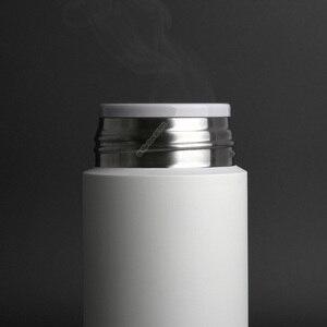 Image 4 - Xiaomi Mijia 350ml bouteille deau en acier inoxydable Thermos léger vide MIni tasse Camping voyage Portable tasse isolée Sport