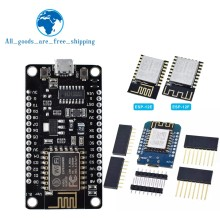 Wireless module NodeMcu v3 CH340 Lua WIFI Internet of Things development board ESP8266 with pcb Antenna and usb port for Arduino(China)