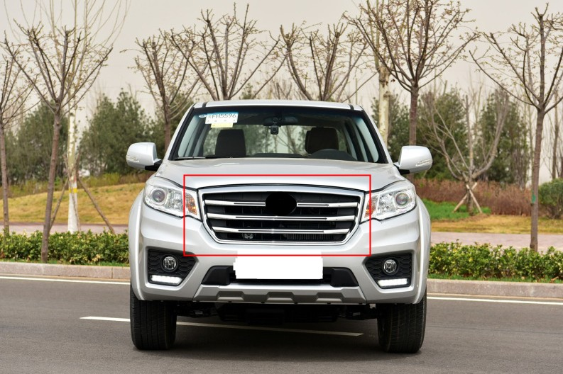 1pc Auto Front Grille Car Radiator Grill Fits For Great Wall Wingle 6 2017