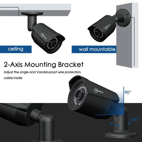 pces 1080p kit camera de vigilancia seguranca