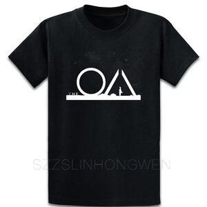 Футболка Летняя с принтом для мужчин The Oa, хлопковая рубашка для фитнеса, большие размеры 5xl