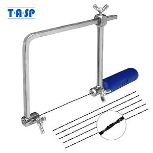 TASP Jig-Saw Frame Jewelry Hand-Tools Spiral-Blades Woodworking-Craft Coping U-Shape