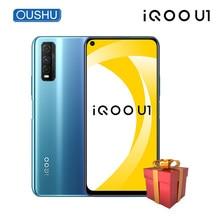 Vivo-Teléfono Móvil Inteligente IQOO U1 4G, Snapdragon 720G, 48MP Triple de cámara trasera, batería de 4500mAh, 18W, pantalla de 6,53 pulgadas para poros