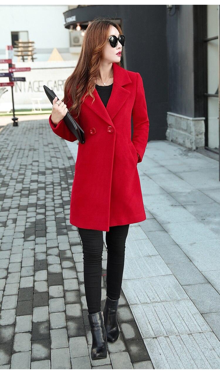 YICIYA Winter autumn Coat Women Wool Jacket Long Oversized Coats Plus Size Large Black Blend Woolen Warm Outerwear 2019 Clothing 32