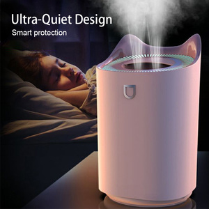 Image 3 - KBAYBO 3.3L Air Humidifier ultrasonic Aroma oil diffuser strong mist maker essential oil diffuser aromatherapy home LED lights