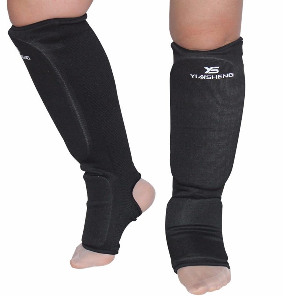 ADii Shin Instep Pads MMA Muay Thai Shin Guards Kick Boxing Foot Leg Protector