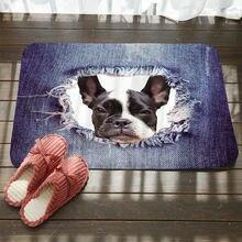 Ковер для ванной и кухни с принтом кошки собаки милые коврики